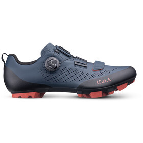 Fizik Terra X5 MTB Schoenen Heren, dark blue/brick red